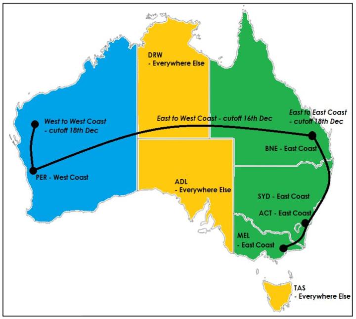 AU Xmas 19 cut off Coastal Map