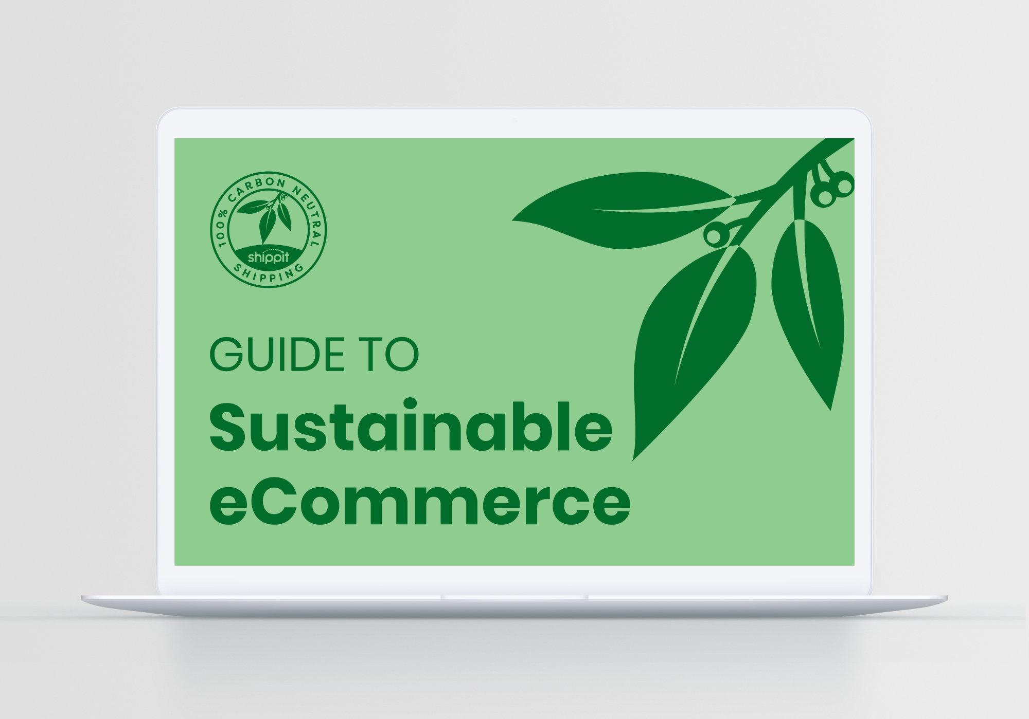 Sustainable eCommerce eBook