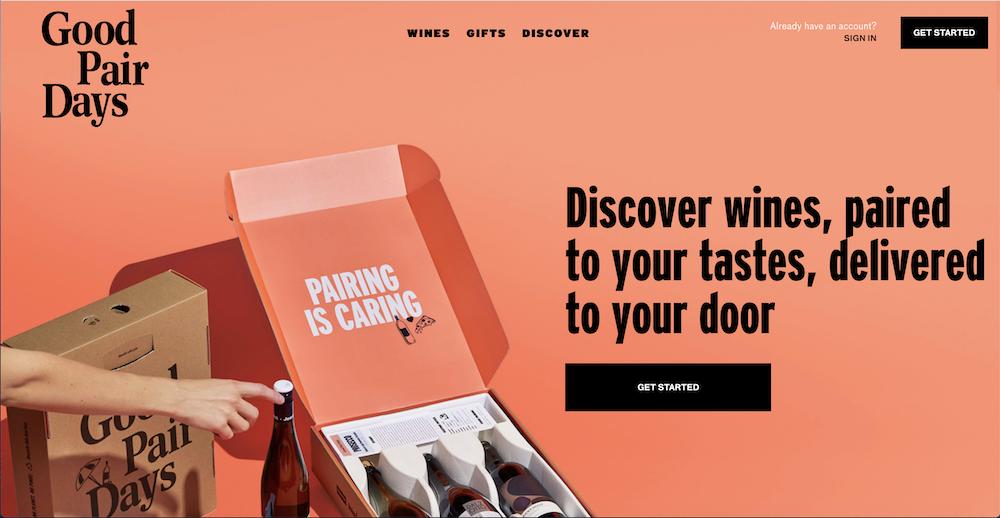 minimalist eCommerce web design