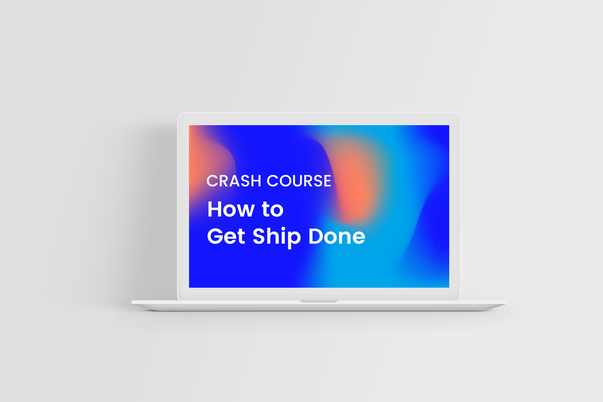 How to get ship done ebook